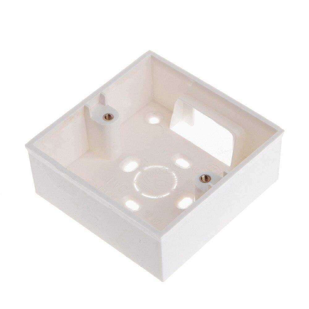 86*86 PVC caja de montaje en pared Cassette para enchufe interruptor Base