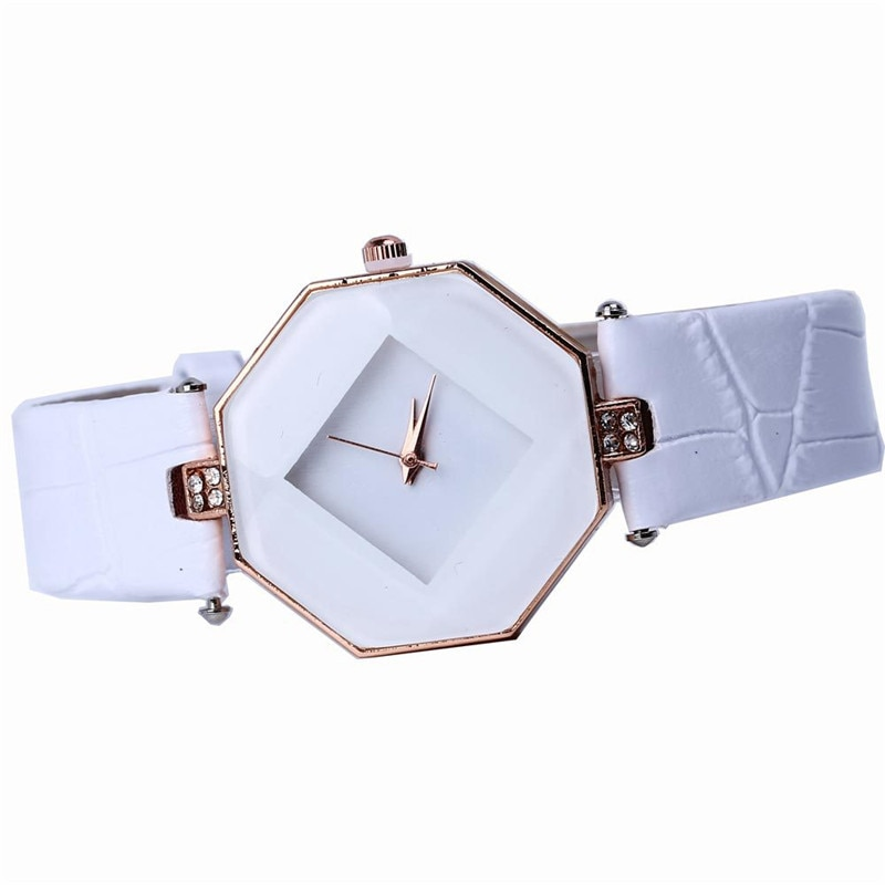 2021 New High-end fashion brands women watches relogio feminino Leather quartz watches Casual Dress