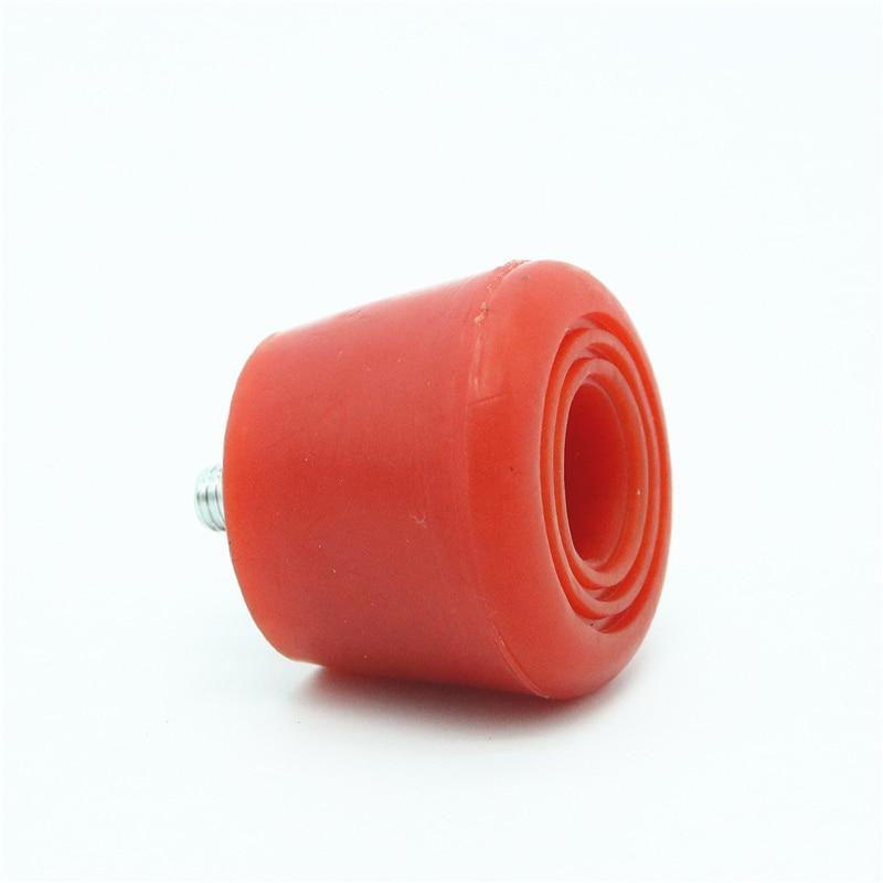 Rolo patins rolha com parafuso durável rolo de skate sapatos bloco de freio para dupla-linha de patinação rolo