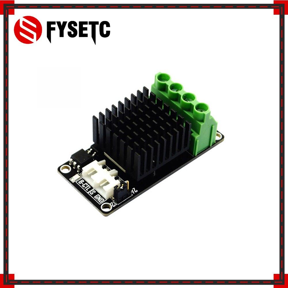 2x cama quente placa de expansão energia/módulo potência heatbed/mos tubo alta carga atual mini módulo para anet a8 rampas 1.4 frete grátis