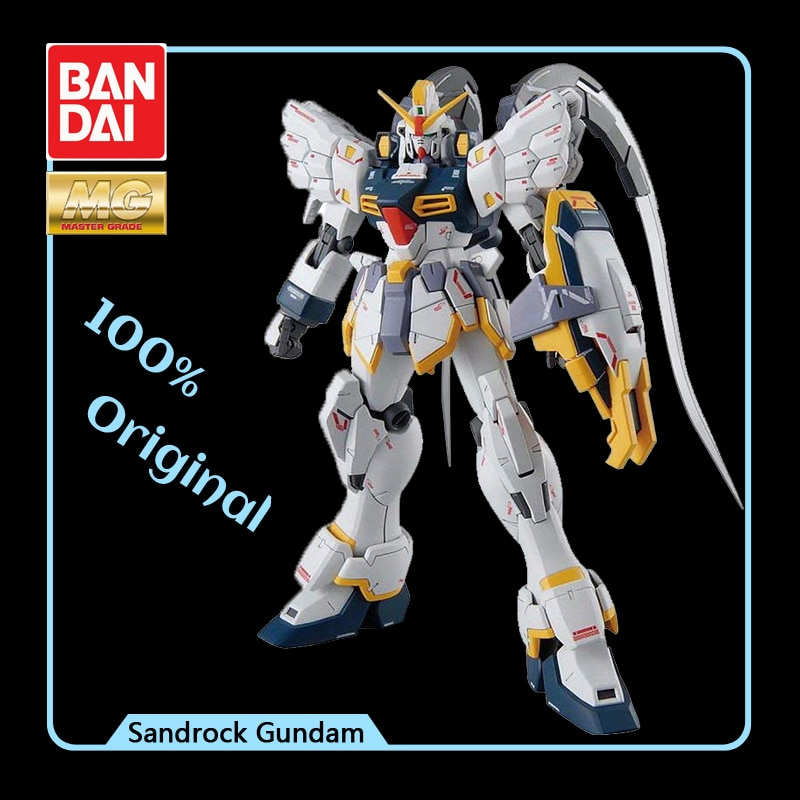 Модель BANDAI MG 1/100, новый мобильный отчет, экшн-фигурка