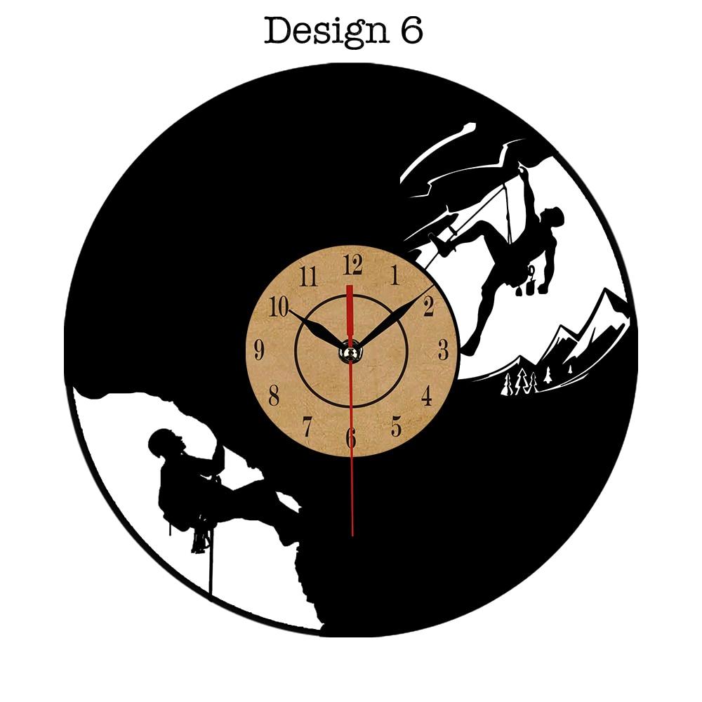 Vinyl Wall Clock Modern Design In Wall Clocks Art CD Vinyl Record Clock Watch Creative Horloge Home Relogio Parede for Gifts
