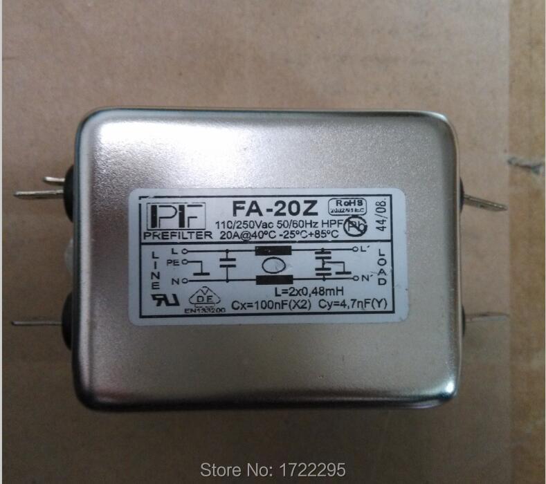 Panneau de Chasis Original série FA   Montage de panneaux, monophasé 6A, filtres monophasé pour convertisseurs de fréquence