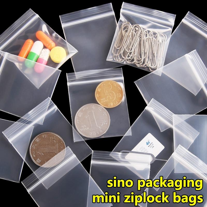 AliExpress - 100 pcs/lot Free Shipping Mini Zip lock Bags Plastic Packaging Bags small Plastic zipper bag ziplock bag ziploc