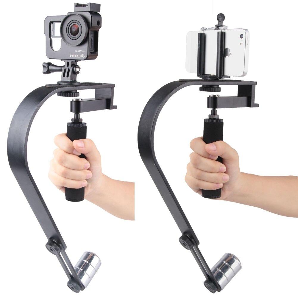 Handheld Video Stabilizer Camera Steadicam Stabilizer for Gopro Camera for iPhone SLR Digital Camera