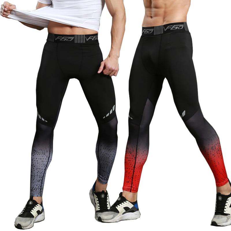 Fitness mallas para correr hombres corredor deportivos proteinas deportiva polainas gimnasio de compresión pantalones de Jogging pantalones largos Pantalones de deporte de los hombres
