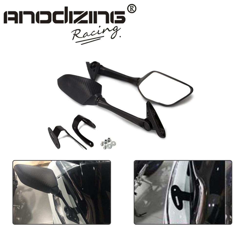 Para PCX 125 PCX 150 PCX125 PCX150 2017, 2018 de 2019 modificado retrovisor para motocicleta espejo frontal del soporte