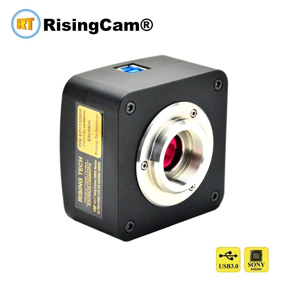 High frame rate 15mp SONY CMOS sensor USB3.0 digital microscope Camera for trinocular microscope