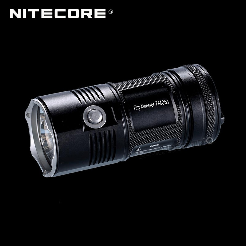Novo produto 2015-2016 minúsculo monstro nitecore tm06s 4000 lumens cree XM-L2 u3 lanterna led holofote