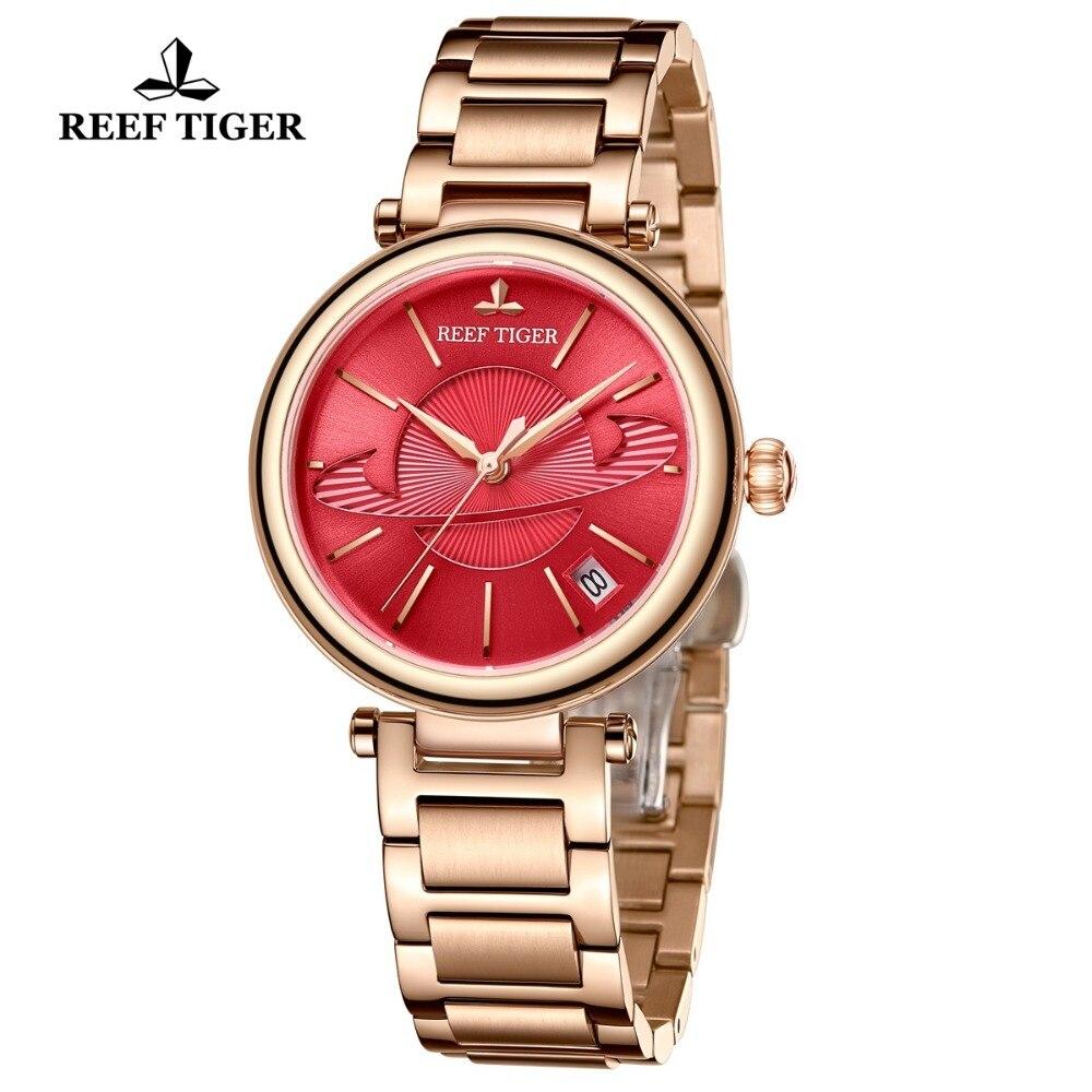 Reef Tiger/RT Luxury Brand Women Watches Designer Mechanical Bracelet Watch Relogio Feminino Gift for Ladies RGA1591 enlarge