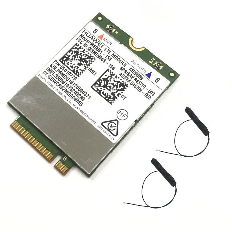 Мобильная широкополосная карта для HP LT4132 LTE HSPA + 4G модуль Huawei ME906S ME906S-158 845710-001 845709-001
