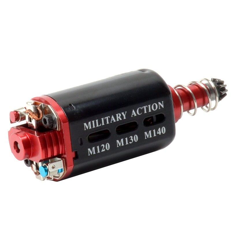 Hohe Geschwindigkeit AEG Motor Lange/Kurze Achse für AK M16/M4/MP5/G3/P90 AEGSeries passt für M120 M130 M140 Frühling