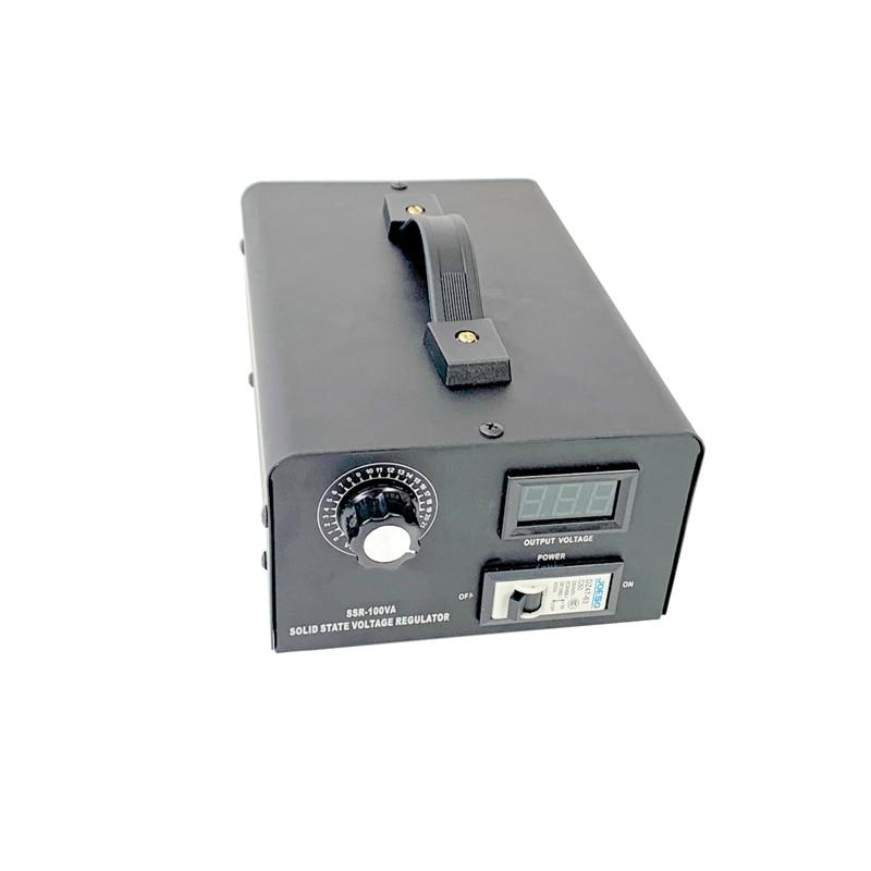 10 000 W/220 V SCR الإلكترونية الجهد منظم درجة الحرارة المحرك جهاز تحكم في سرعة المروحة باهتة أداة كهربائية قابل للتعديل
