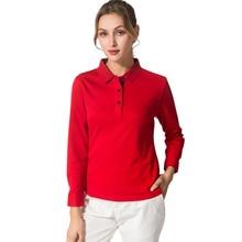 Nouveau Golf chemises hommes femmes coton à manches longues Sport Polo Jersey JL automne ropa de golf para hombre dames Sport t-shirt
