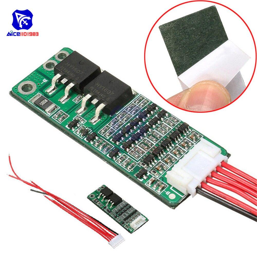 Diymore 5S 15A / 10A 18650 литий-ионная литиевая батарея Защитная плата BMS 18V 21V короткий ток зарядное устройство модуль защиты