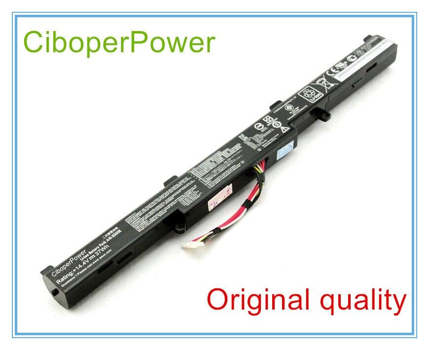 Original ordenador portátil batería A41-X550E para X450 X450E X450J X450JF X751L A450J A450JF A450E F450E 44WH 4 celdas