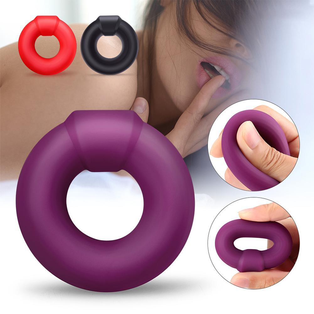 PERSONAGE Liquid Silicone pene anillo Stay Hard Delay mejora de juguete sexual para hombres