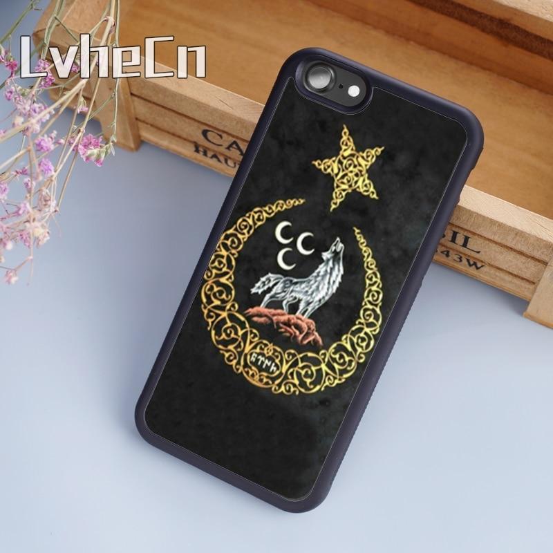 LvheCn Republic Turkey Flag Ankara  Phone Case Cover For iPhone 5 6 6s 7 8 plus 11 pro X XR XS max Samsung S7 edge S8 S9 S10