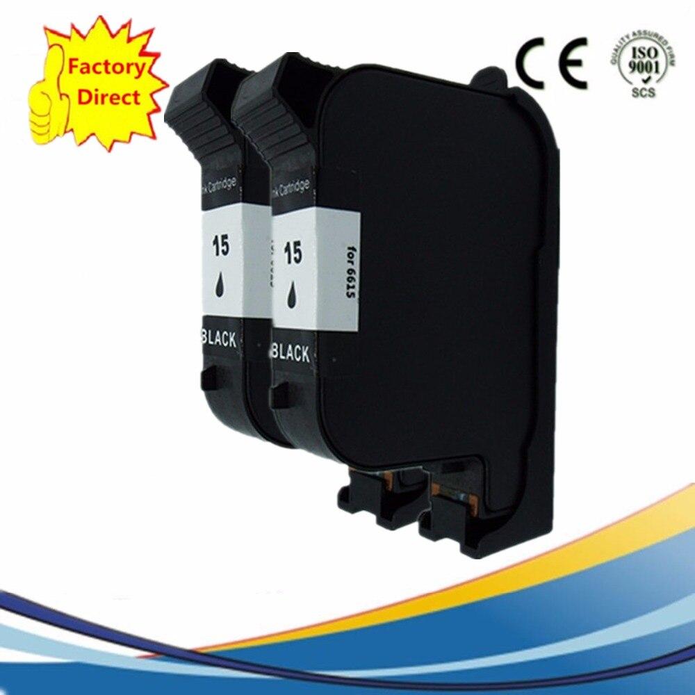 Cartucho de tinta remanufacturado para HP15 HP15 15XL PhotoSmart 1218xi 1315 1315vm P1000 P1000xi P1100 P1100xi copiadora Color 110 de 120