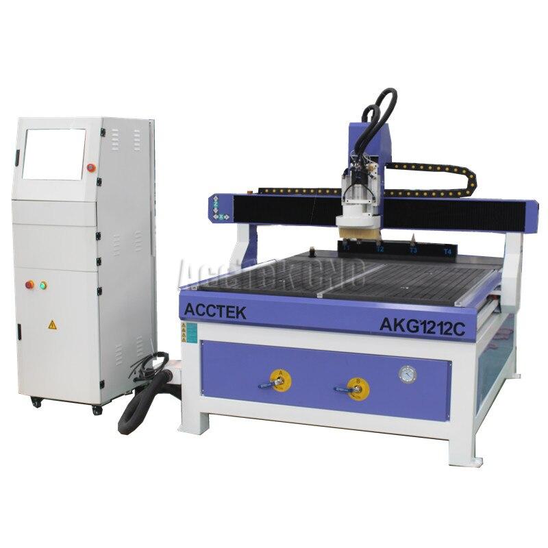 Cambiador de herramientas automático lineal de madera cnc enrutador maquinaria pequeña 6090 6012 1212 atc cnc tallado de madera enrutador precio