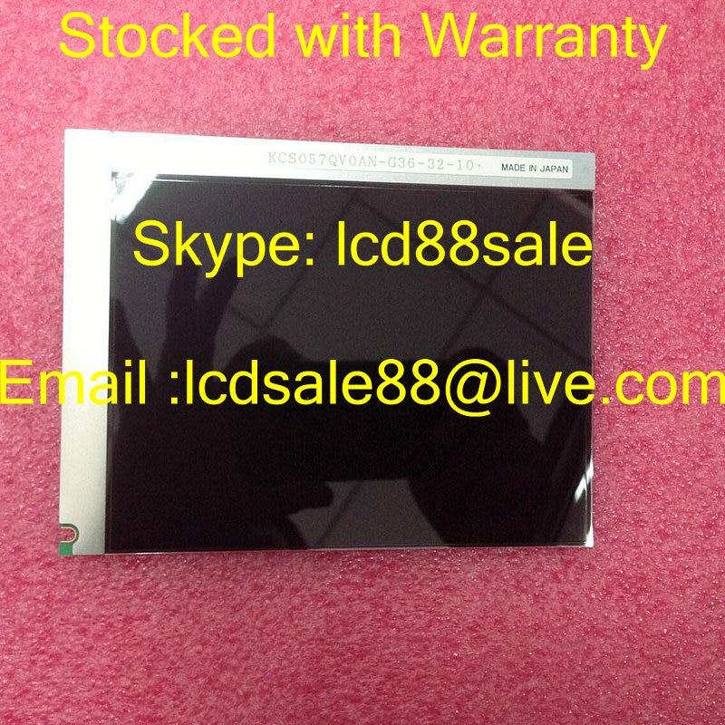 أفضل سعر و جودة الأصلي KCS057QV0AN-G36 الصناعية LCD عرض