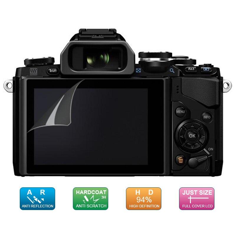 (6 шт., 3 упаковки) Защитная пленка для ЖК-экрана для Olympus E-M1 / E-M1 II / E-M10 / E-M10 IV / E-M5 II / E-PL9 E-PL8 E-PL7 E-P5