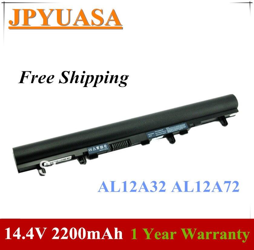 7XINbox 14,4 V AL12A32 AL12A72 batería del ordenador portátil para Acer Aspire V5 V5-431 V5-431G V5-471 V5-531 V5-531G V5-551 V5-571 E1-470 E1-472