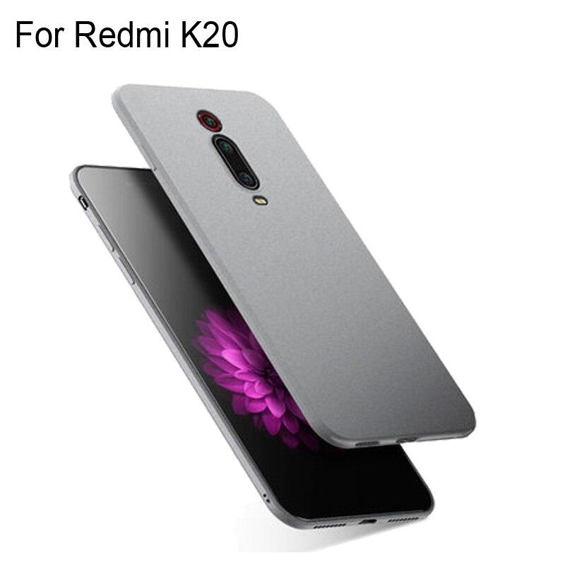 Funda para Xiaomi Redmi K20, funda fina esmerilada, arenisca suave mate, Fundas de TPU para Xiaomi Redmi K 20, Fundas RedmiK20