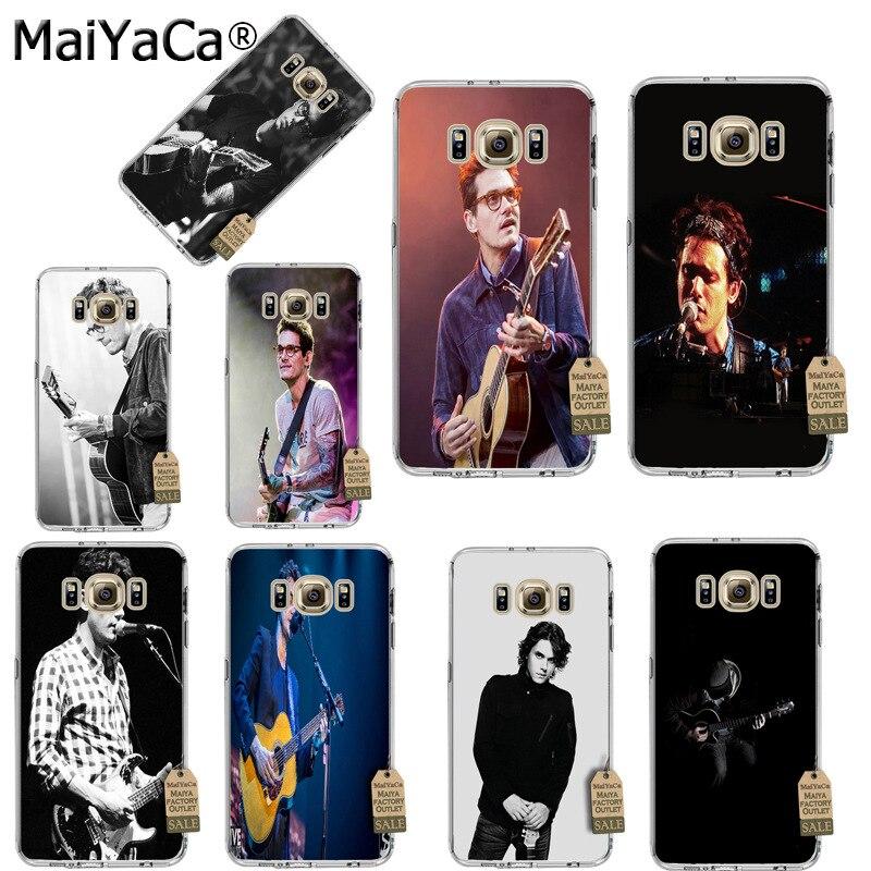 MaiYaCa John Mayer funda suave de tpu para teléfono Samsung galaxy S5 S6 S7 S8 s7 edge s8 plus