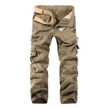 MISNIKI 2020 New autumn men cargo pants straight casual multi pockets tactical pants 28-40 AXP138