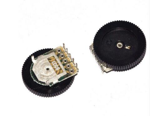 10 pçs/lote 16*2mm Dupla Engrenagem sintonia B503 50 k 5Pin original novo