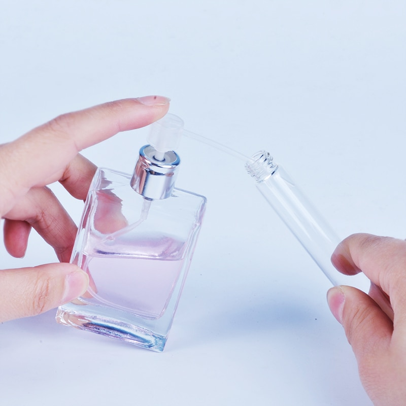 100 pçs/lote plástico perfume dispenser ferramentas seringa bomba de recarga funis ferramenta cosmética para garrafa recarregável amostra frasco perfume