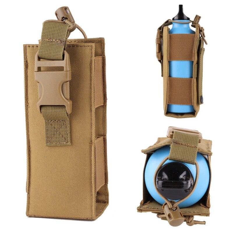 Сумка для бутылки воды 600D нейлон тактический Молл военный чехол для фляги кобура для путешествий на открытом воздухе сумка для чайника