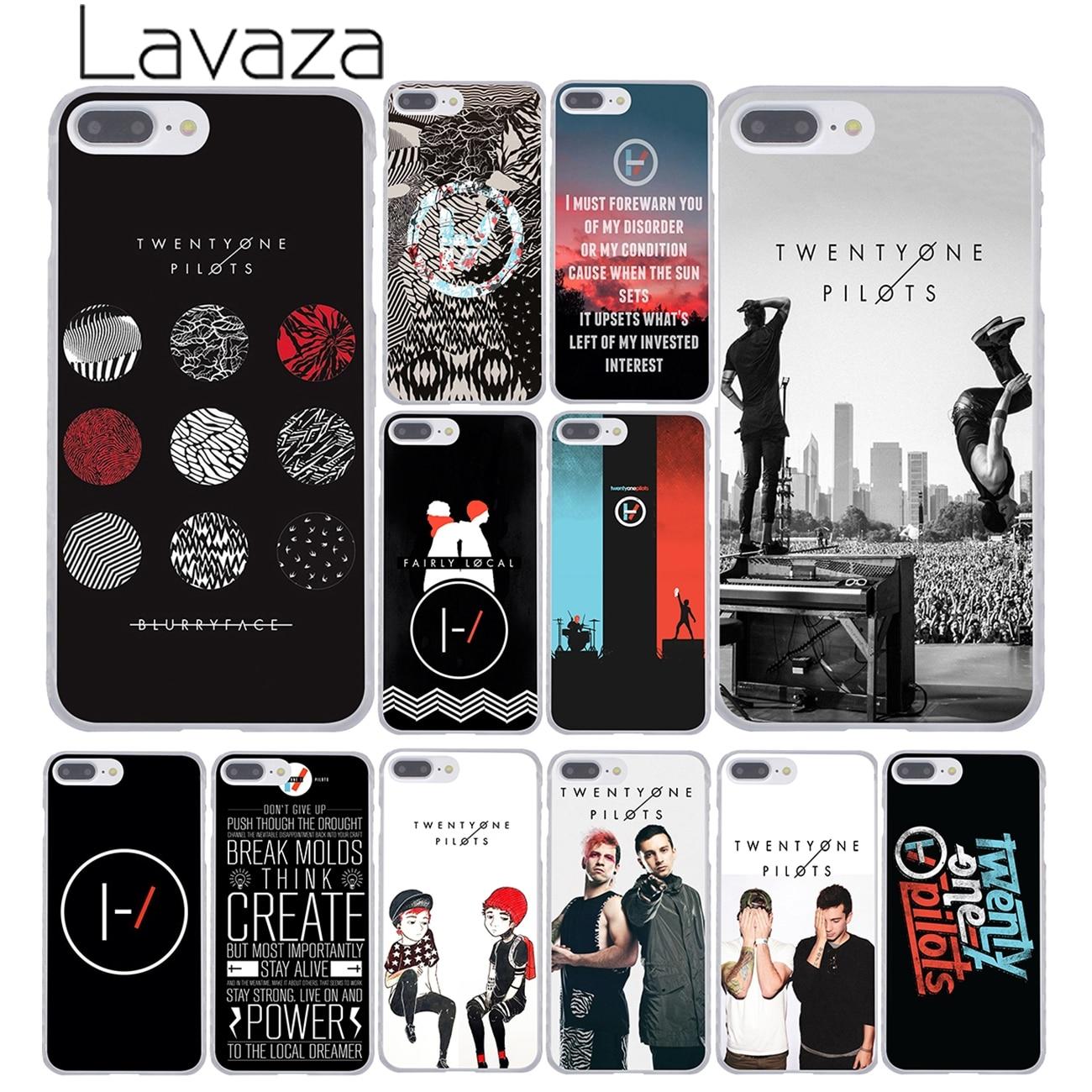 Жесткий чехол для телефона Lavaza Twenty One пилотов 21, для iPhone XR, XS, X, 11 Pro, Max, 10, 7, 8, 6, 6 S, 5, 5S, SE, 4