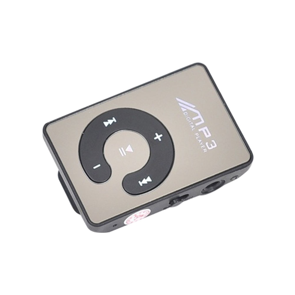 2019 New Mini MP3 Player Waterproof Sports Mp3 Music Player Clip Mini C MP3 Players With TF Card Walkman USB Interface