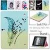 Étui pour Samsung Galaxy Tab S T800 T805 10.5 pouces mode hibou arbre peint couverture en cuir PU pour Galaxy SM-T800 T805 tablette