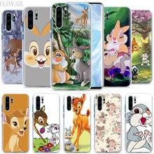 Bambi Klopfer Telefon Fall coque für Huawei P20 P30 P40 Pro + P10 P20 P30 Lite P Smart Plus fall