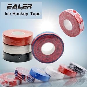 Coldindoor 2 Pc Hockey Stick Tape 2.5cm x 25m Multipurpose Colorful Sport Safety Cotton Cloth Enhances Puck Handling Elbow