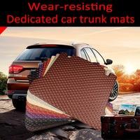 car Trunk mats specially customized for Lexus RX 200T 270 350 450H NX ES GS IS LX 570 GX460 LS460 LS600H L carpet