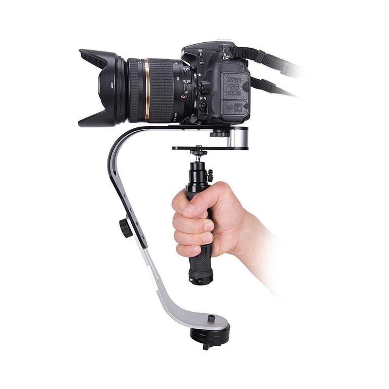 Bogen Typ Kamera Handheld DV Video Kamera Stabilisator für Gopro DSLR SLR Digital Kamera Sport DV Aluminium kamera stabilisator