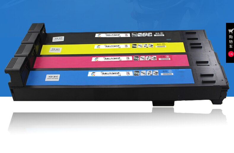 Cartucho de tóner de color Compatible para Konica Minolta magicolor 7400 7440 7450 TN7400 cartucho de tóner