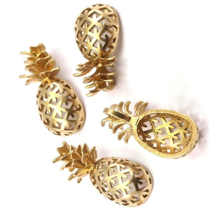 3 шт. .. Raw Brass фрукты, ананас sz. (30x13,4x6,3 мм) -yN250-