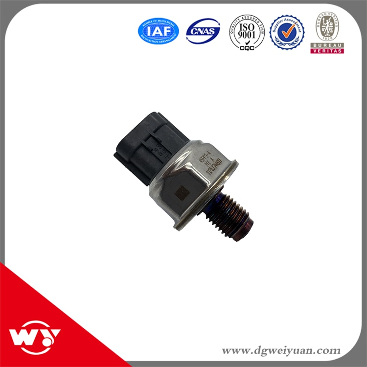 5 unids/lote de riel de Combustible Sensor de alta presión de Drucksensor 45PP3-4 12131913818 traje de 9665400680 para Peugeot Boxer Fiat Ducato