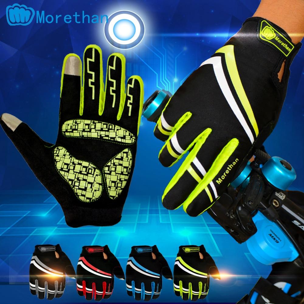 ¡NOVEDAD DE 2016! Guantes de Ciclismo para hombre, guantes de bicicleta MTB, guantes de Ciclismo 3D de GEL, guantes de dedos completos deportivos a prueba de golpes