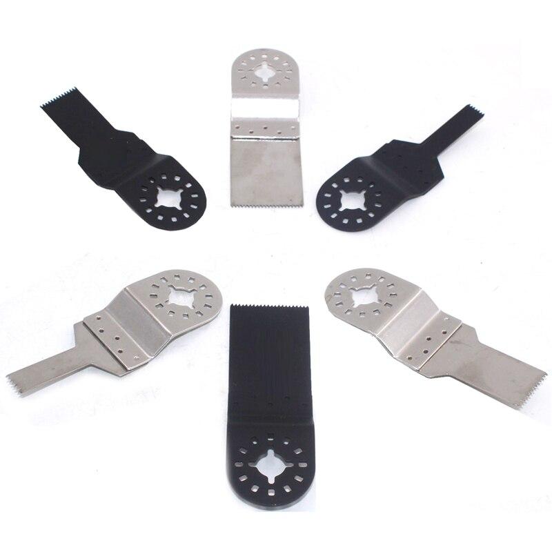 Осциллирующие инструменты из нержавеющей стали, прямые, 3 лезвия из высокоуглеродистой стали для электроинструментов Multimaster, 5 шт.