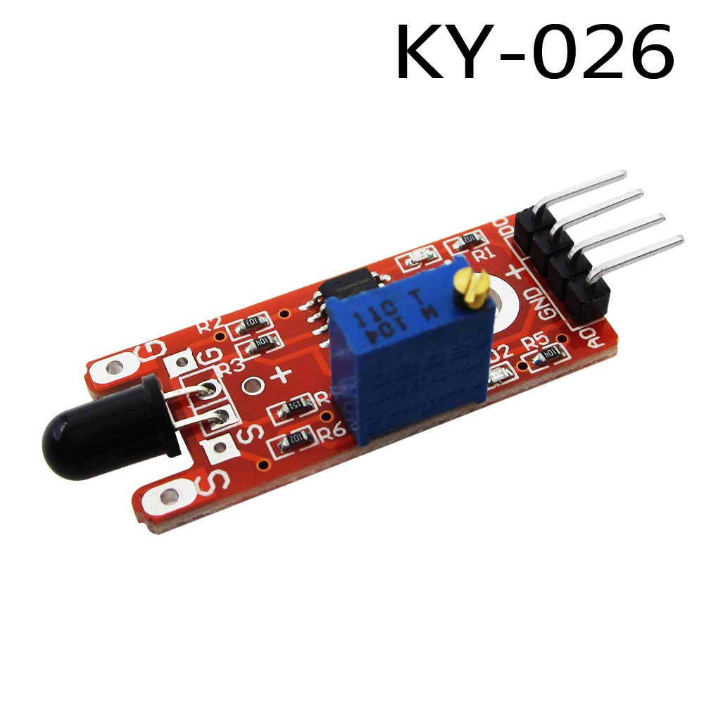 KY-026 Flame Sensor Module IR Sensor Detector For Temperature Detecting Suitable