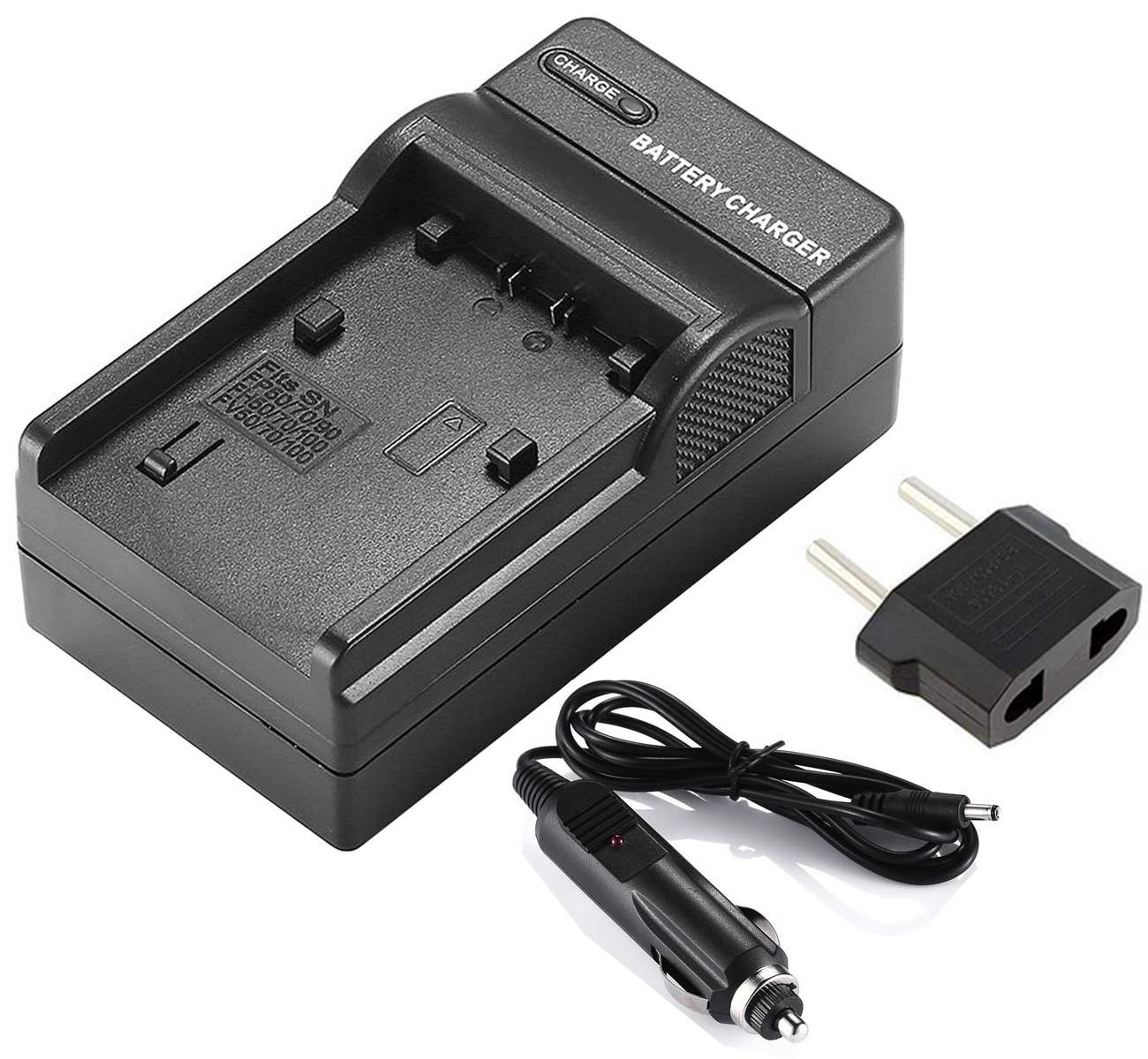 Carregador de bateria para sony HDR-CX550, HDR-CX550V, HDR-CX560, HDR-CX560V, HDR-CX570, HDR-CX580V, HDR-CX590V, handycam filmadora