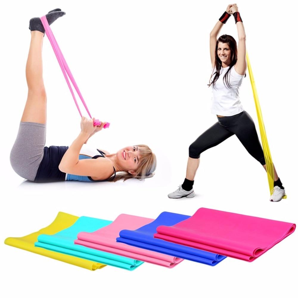 1.2m puxar corda segura alongamento elástico yoga pilates borracha exercício banda braço perna de volta fitness apertar abdominais