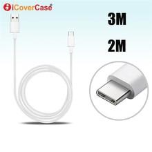 5 M 3 5 mètres Type C câble pour Samsung Galaxy S8 S9 Plus A5 2017 USB C chargeur câble prise pour XiaoMi Mi A2 6X8 Lite 9 Pro SE A1
