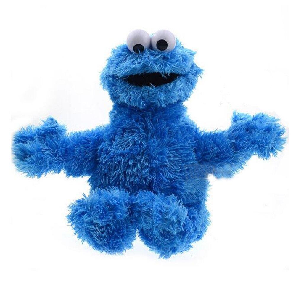 Alta calidad Barrio Sésamo peluche suave juguete galleta monstruo 40cm